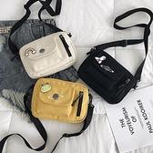 帆布小包包女包2020新款韓版百搭可愛迷你斜挎包chic單肩包手機包