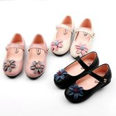女童鞋子黑色皮鞋小女孩公主鞋1-3-6歲兒童單鞋5   居家物語