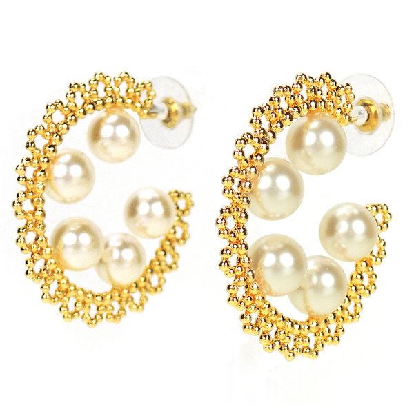 chicist 童話珍珠耳環