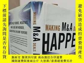 二手書博民逛書店Making罕見M&A Deals Happen 【英文原版,精