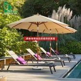 遮阳伞 戶外室外沙灘傘擺攤折疊太陽傘庭院花園桌椅傘中柱遮陽傘戶外 莎拉嘿呦