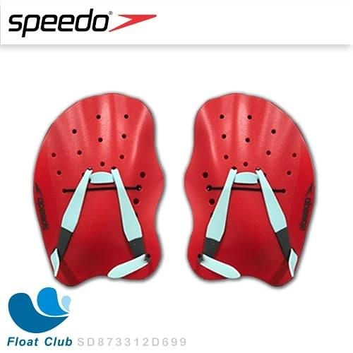 Speedo 成人划手板 Tech Paddle 熔岩紅 游泳訓練 游泳划手板