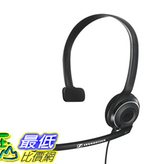[107美國直購] 耳機 Sennheiser PC 7 USB - Mono USB Headset for PC and MAC