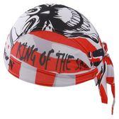 自行車頭巾 遮陽-酷炫街頭塗鴉型設計男女單車運動頭巾73fo36[時尚巴黎]