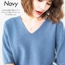 薄款套頭V領短袖毛衣女風情通勤寬鬆慵懶針織衫短款修身韓版打底