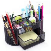 筆筒  筒創意時尚大容量超歐式收納盒復古學生桌面辦公清新筆桶辦公室  蒂小屋服飾