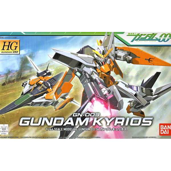 鋼彈00 BANDAI 組裝模型 HG 1/144 GN-003 主天使鋼彈 04