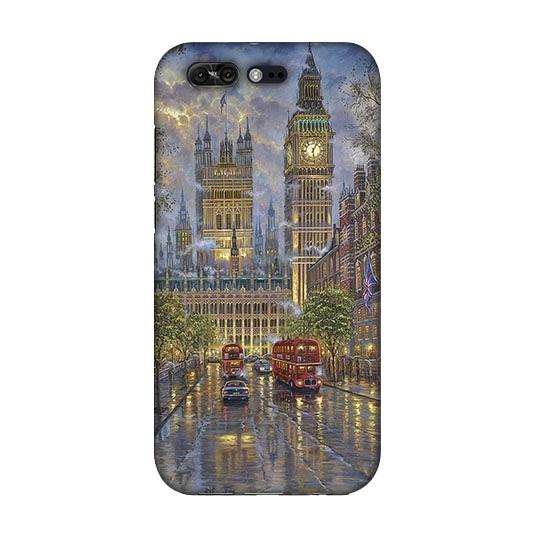 [ZS551KL 軟殼] 華碩 ASUS ZenFone 4 Pro Z01GD 手機殼 外殼 保護套 倫敦風情