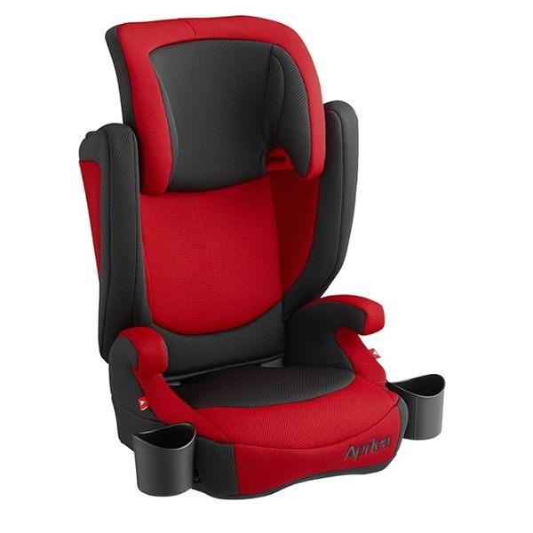 Aprica愛普力卡 - Air Ride 成長型輔助汽車安全座椅(汽座) 翱翔紅 4425元 【不可超取】