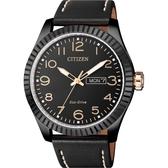 CITIZEN 星辰 限量光動能休閒手錶-黑/42mm BM8538-10E
