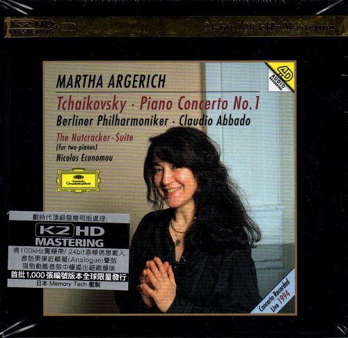 【停看聽音響唱片】【K2HD】Tchaikovsky:Piano Concerto No.1.Nutcracker Suite