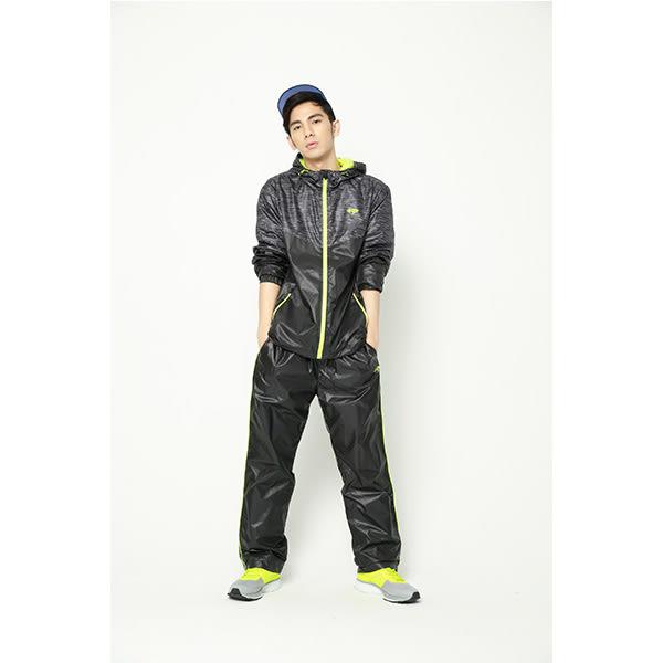 FIVE UP風衣長褲-黑