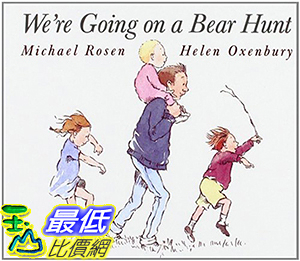 [106美國直購] 2017美國暢銷兒童書 We re Going on a Bear Hunt (Classic Board Books) Board book