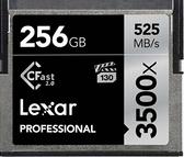 【聖影數位 】Lexar 雷克沙 CF CFast2.0 256G 3500X 讀取525MB/s 寫入445MB/s