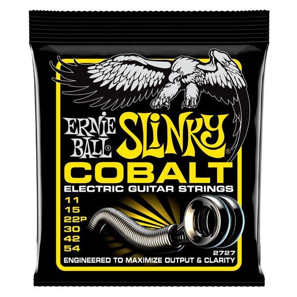 小叮噹的店-美國 Ernie Ball 2727 (11-54) 電吉他弦 BEEFY SLINKY COBALT