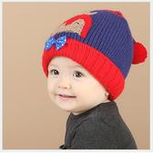 韓版冬季小企鵝保暖兒童毛帽