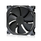 Phanteks 追風者PH-F140MP_BBK高風壓版全黑14公分冷排散熱風扇PWM(液壓軸/聚風流葉片/避震墊/靜音溫控)