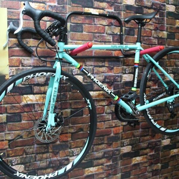 自行車墻壁掛架 停車架 單車停放架 室內掛車架 山地車壁掛架 智慧e家 新品