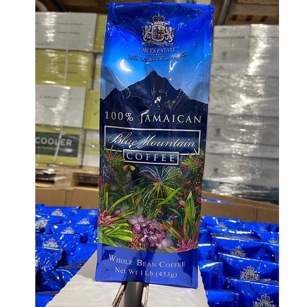 [COSCO代購] C254930 LAWES ESTATE BLUE MOUNTAIN牙買加藍山咖啡豆 453公克