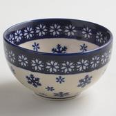 波蘭陶 雪白冰花系列 餐碗 12cm 波蘭手工製