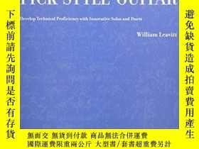 二手書博民逛書店Classical罕見Studies For Pick-style Guitar - Volume 1Y256