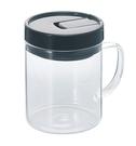金時代書香咖啡 HARIO 把手咖啡保鮮罐 M 黑色 MCNT-S-B