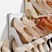 創意鞋架簡易門口鞋架置物架多層門后鞋架鞋子收納架宿舍簡易鞋架 幸福第一站