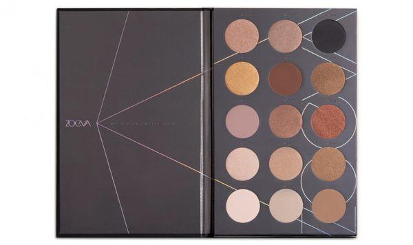 【ZOEVA】裸膚15色眼影盤 Nude Spectrum Eyeshadow Palette