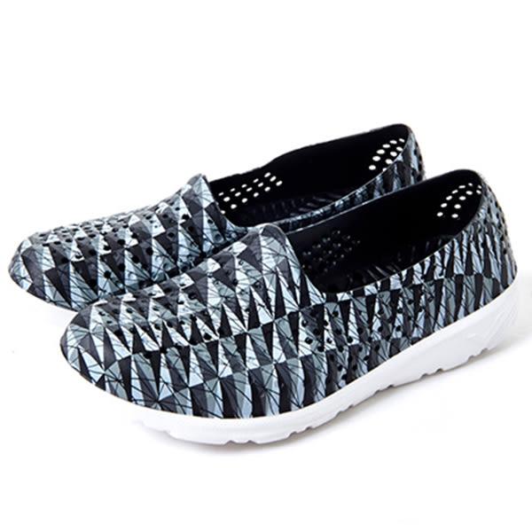 Pony 洞洞鞋 童鞋 男女鞋 水鞋 潮流洞洞鞋 輕便防水透氣 走路鞋 懶人鞋 洞洞拖鞋 82U1SA67BK