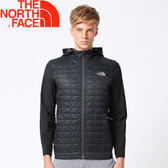 【The North Face 男款  ThermoBall 運動夾克《黑》】365GJK3/化纖外套/保暖外套/外套★滿額送