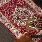 范登伯格 紅寶石輕柔絲質感地毯-踏墊-門墊-尚(紅)-50x70cm