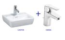 【麗室衛浴】瑞士 LAUFEN + HANSA系列 掛牆臉盆45CM 組合優惠價