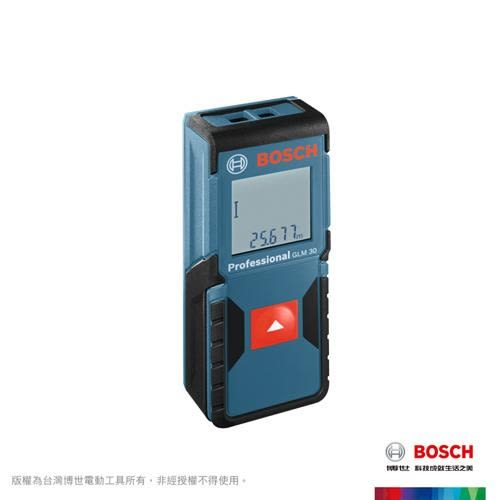 BOSCH 雷射測距儀 GLM30【買房賣房都需要】