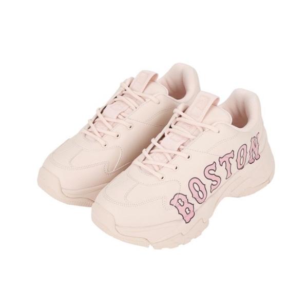 MLB 波士頓 全粉色 BOSTON 增高 經典大LOGO 老爹鞋 復古風 韓妞著用 32SHC2011-43P