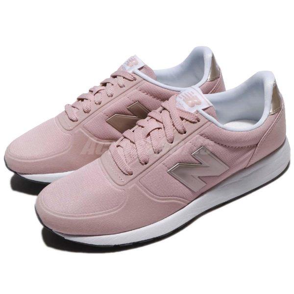 【六折特賣】New Balance 復古慢跑鞋 215 NB 粉紅 銀 白底 麂皮 基本款 女鞋【PUMP306】 WS215RCB