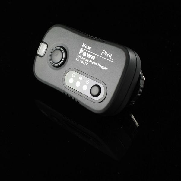 又敗家@PIXEL品色Pawn無線引閃器Pawn發射器Trigger TX TF-361 TF-362 TF-363 TF-364適Canon Nikon Sony Pentax