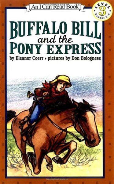 (二手書)An I Can Read Book Level 3: Buffalo Bill and the Pony Express