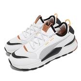 【海外限定】Puma 休閒鞋 RS-0 Trail 白 黑 橘 男鞋 復古 襪套式 【ACS】 37182901