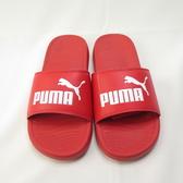 PUMA POPCAT 20 海綿拖鞋 37227904 紅 男款【iSport愛運動】