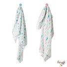 包巾 英國 Frugi 有機棉嬰兒包巾 嬰兒毯 嬰兒被 包被 - 2款 ACS801LWPOS ACS801SASOS