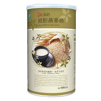 綠緣寶 紅藻鈣初胚燕麥奶 500g/罐