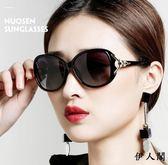 太陽鏡女偏光墨鏡防紫外線眼鏡2