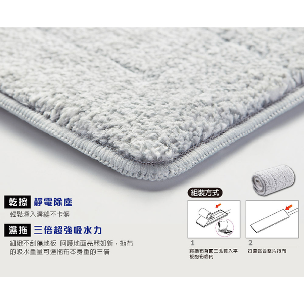 【好神拖】平板系列 輕清拖乾濕兩用布