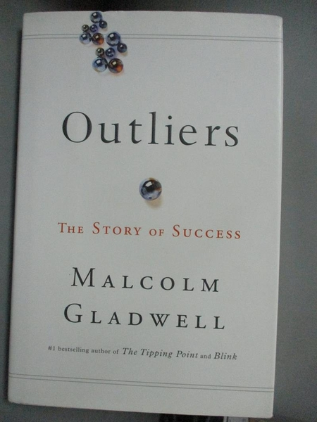【書寶二手書T8/心理_JJR】Outliers: The Story of Success_Gladwell, Malcolm