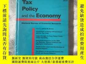 二手書博民逛書店Tax罕見Policy and the Economy NBER