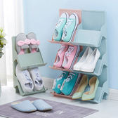 ✭米菈生活館✭【A36】可疊加多功能鞋架 立體 收納 書櫃 拼接 落地 桌面 整理 分類 球鞋 拖鞋