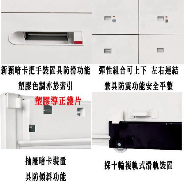 【 IS空間美學】雙開門上置式鋼製公文櫃(兩款尺寸可選)