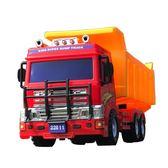大號慣性翻斗車工程車運輸卡車大貨車模型小孩子兒童玩具寶寶男孩