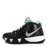 Nike Kyrie 4 GS [AA2897-390] 大童鞋 籃球 運動 緩震 包覆 透氣 舒適 明星 黑 銀