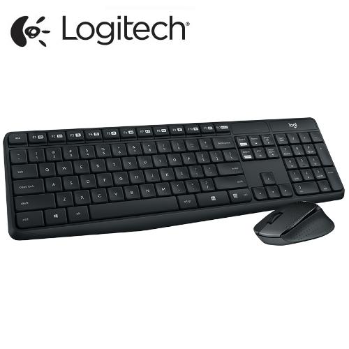 Logitech 羅技 MK315 無聲無線鍵盤滑鼠組合 安靜耐用